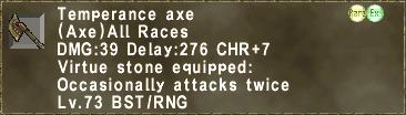 Temperance Axe