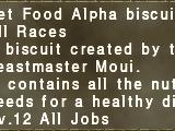 Pet Food Alpha Biscuit