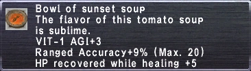 Sunset Soup
