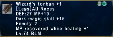 Wizard's Tonban Plus 1