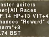 Monster Gaiters
