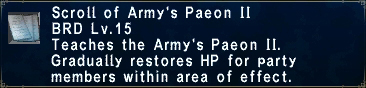 Army's Paeon II