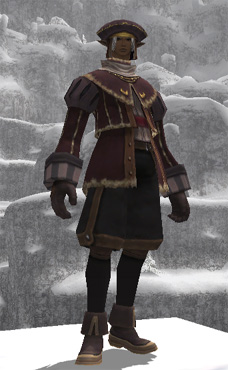Bard's Attire +1 Set