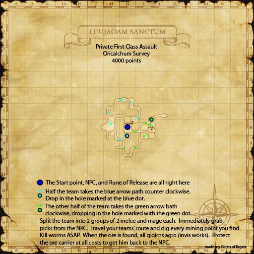 Assault Mission - Orichalcum Survey