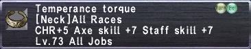 Temperance Torque