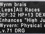 Wyrm Brais