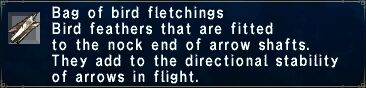 Bird Fletchings