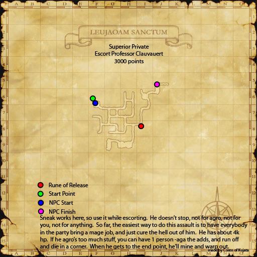 Assault Mission - Escort Professor Chanoix