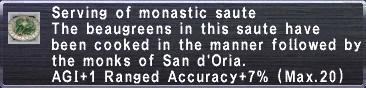 Monastic Sautee