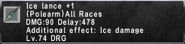 Ice Lance +1
