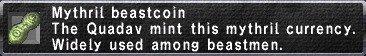 Mythril Beastcoin