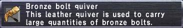 Bronze Bolt Quiver