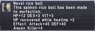 Naval Rice Ball