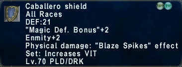 Caballero Shield