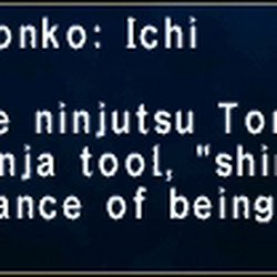 Tonko: Ichi