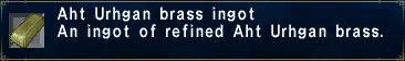 Aht Urhgan Brass Ingot