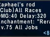 Raphael's Rod