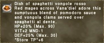 Vongole Rosso