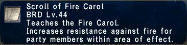 Fire Carol