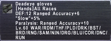 Deadeye Gloves