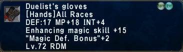 Duelist's Gloves