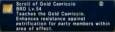 Gold Capriccio