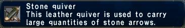 Stone Quiver
