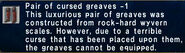 Cursed greaves -1