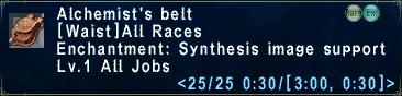 Alchemist's Belt