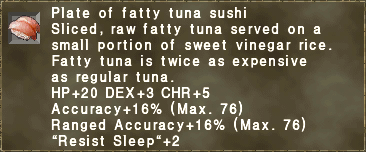 Fatty Tuna Sushi