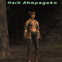 Haih Ahmpagako