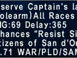 Reserve Captain's Lance