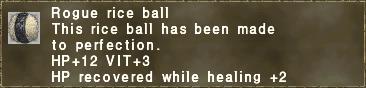 Rogue Rice Ball