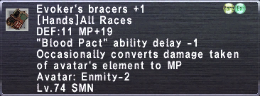 Evoker's Bracers +1