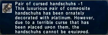 Cursed Handschuhs -1