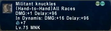 Militant Knuckles