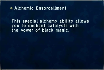 Alchemic Ensorcellment