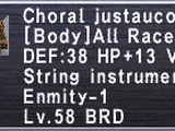 Choral Justaucorps