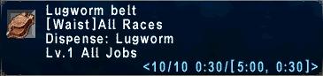 Lugworm Belt