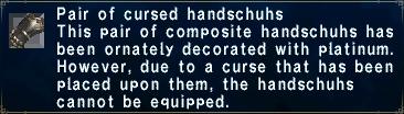 Cursed Handschuhs