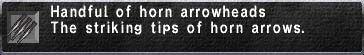 Horn Arrowheads.jpg