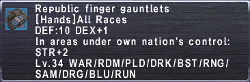 Republic Finger Gauntlets
