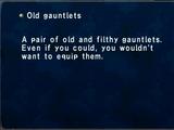 Old Gauntlets