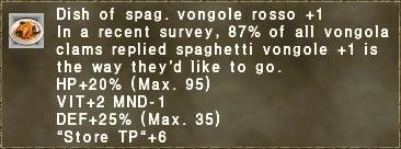 Vongole Rosso Plus 1