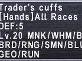 Trader's Cuffs