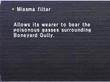 Miasma Filter