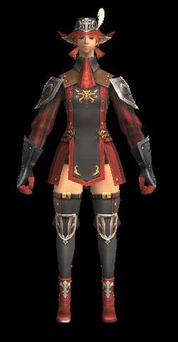 Duelist's Armor +1 Set