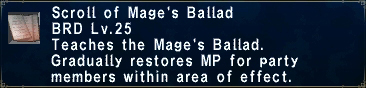 Mage's Ballad