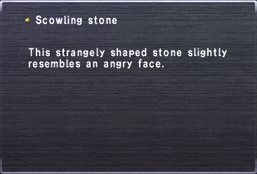 Scowling Stone
