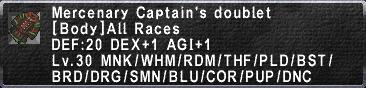 Mercenary Captain's Doublet